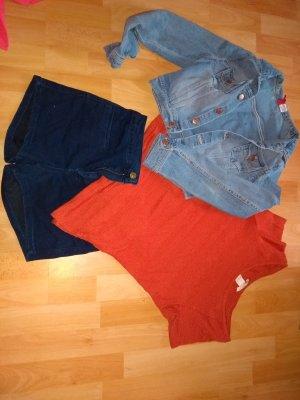 H&M Camisa tejida bermejo