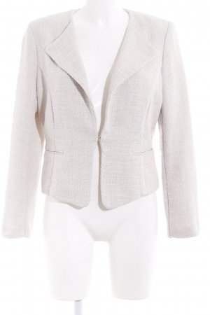 H&M Knitted Blazer oatmeal casual look