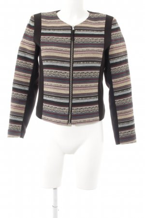 H&M Strickblazer Mustermix Casual-Look
