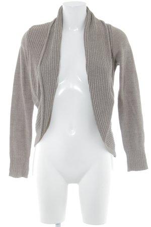 H&M Boléro en tricot ocre style décontracté