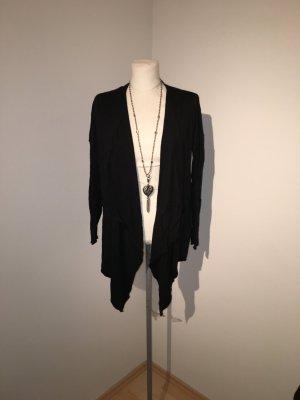 H&M Strickcardigan Jacke Pullover Gr. XL schwarz