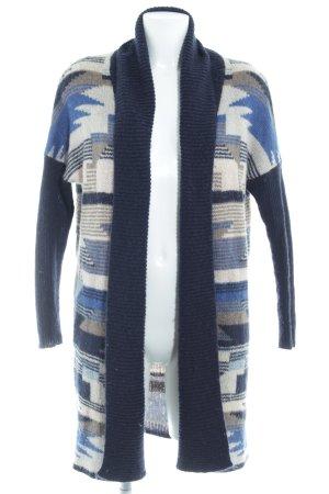 H&M Veste en tricot motif abstrait style décontracté