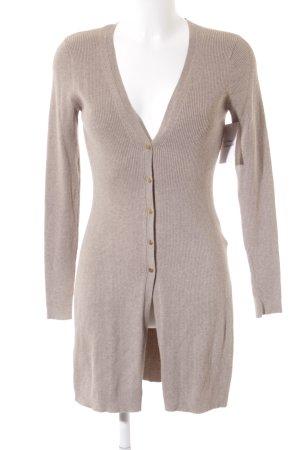 H&M Strickjacke beige Casual-Look