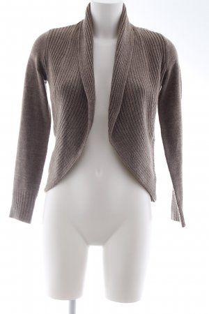 H&M Strickjacke beige Casual-Look