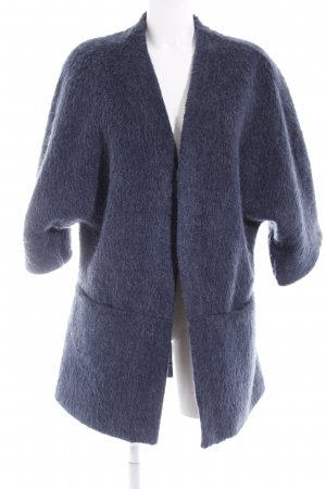 H&M Strickjacke dunkelblau Casual-Look
