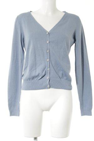 H&M Strickjacke himmelblau Casual-Look