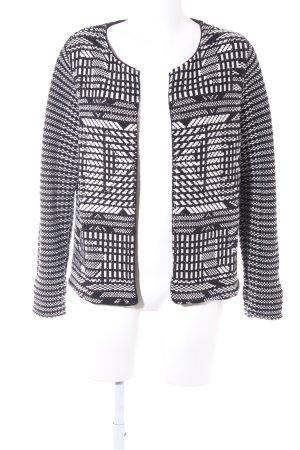 H&M Strickjacke schwarz-weiß Casual-Look