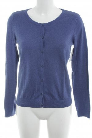 H&M Strickjacke stahlblau Casual-Look