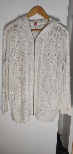 H&M Strickjacke weiß