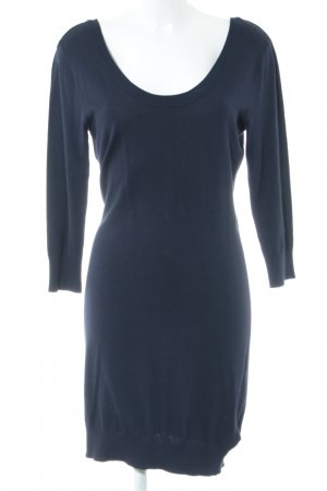 H&M Strickkleid blau Casual-Look