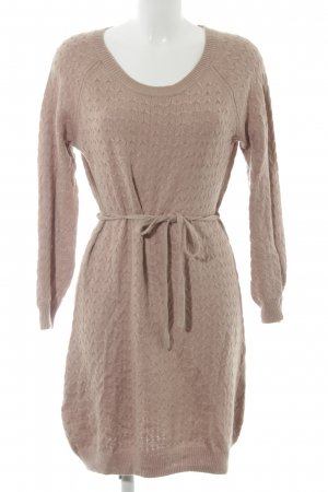 H&M Knitted Dress beige cable stitch casual look