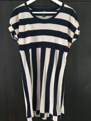 H&M Strickkleid Kleid xs gestreift