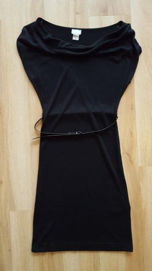 H&M Strickkleid mit Gürtel XS 34 wie neu