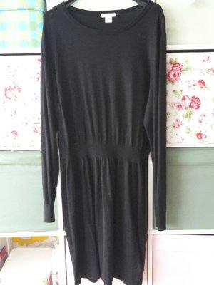H&M Strickkleid schwarz XL