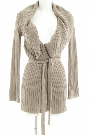 H&M Knitted Coat grey brown casual look