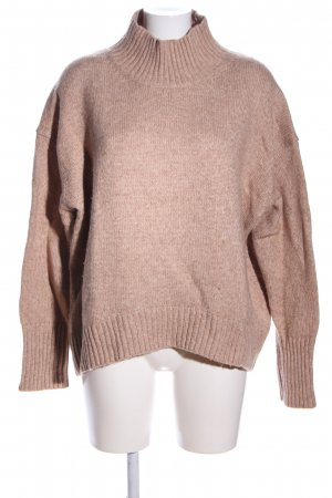 H&M Strickpullover nude meliert Casual-Look