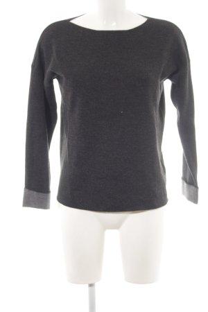 H&M Pull tricoté gris clair style décontracté