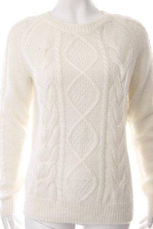 H&M Pull tricoté multicolore tissu mixte