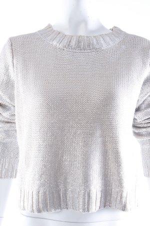 H&M Strickpullover glänzend