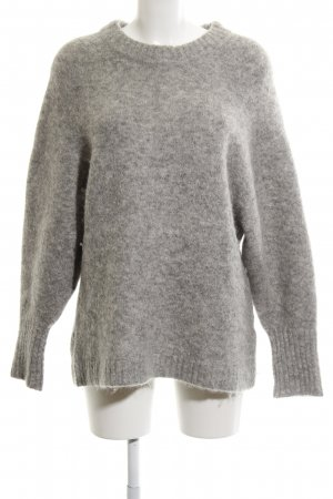 H&M Knitted Sweater grey casual look