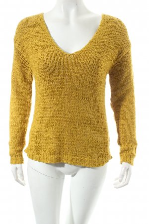 H&M Strickpullover limettengelb Casual-Look