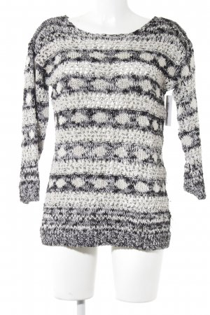 H&M Strickpullover Mustermix Casual-Look