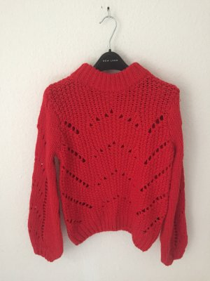 H&M Strickpullover Rot