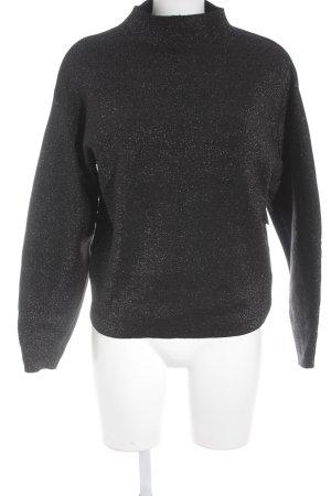 H&M Strickpullover schwarz Casual-Look