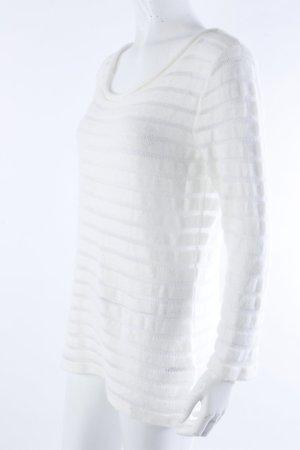 H&M Strickpullover weiß