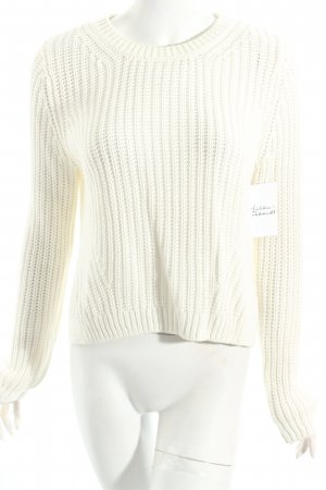 H&M Strickpullover wollweiß Casual-Look