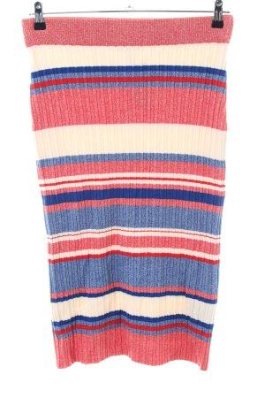 H&M Gonna lavorata a maglia motivo a righe stile casual