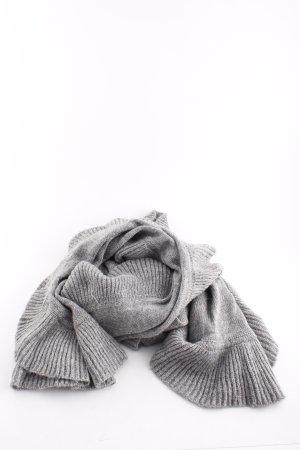 H&M Strickschal hellgrau Casual-Look