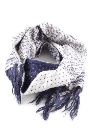 H&M Gebreide sjaal Azteken patroon casual uitstraling