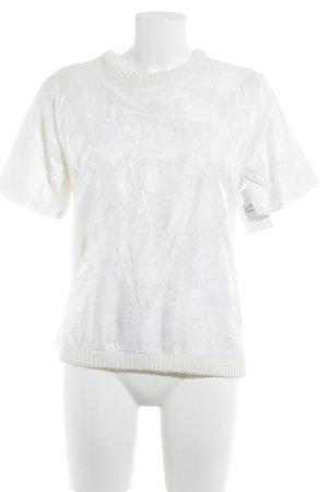 H&M Strickshirt creme-weiß Casual-Look