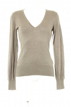 H&M Knitted Jumper light brown casual look