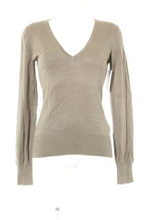 H&M Strickshirt hellbraun Casual-Look