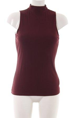 H&M Top lavorato a maglia rosso stile professionale