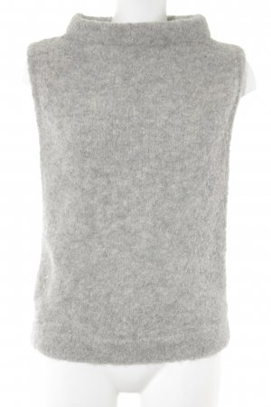 H&M Knitted Top light grey extravagant style