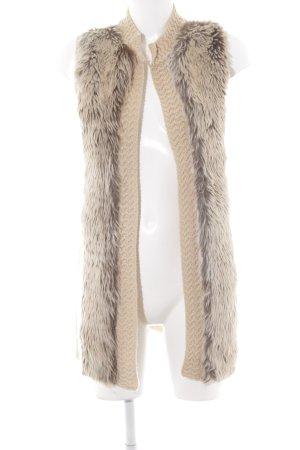 H&M Chaleco de punto beige look casual