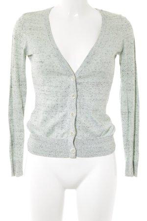 H&M Strickweste blassgrün Casual-Look