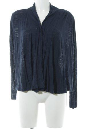 H&M Gebreid vest donkerblauw casual uitstraling