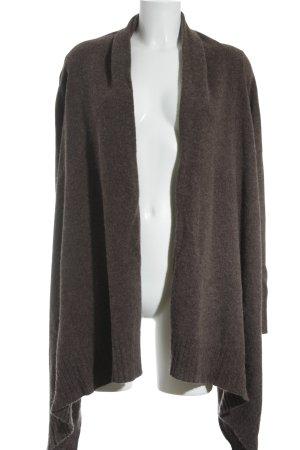H&M Gilet tricoté gris brun style campagnard