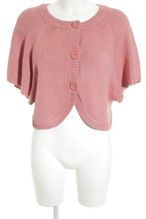 H&M Strickweste roségoldfarben Casual-Look