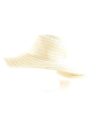 H&M Strohhut creme Beach-Look