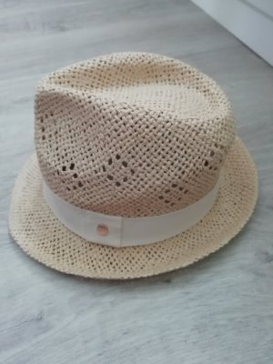 H&M Straw Hat white-oatmeal