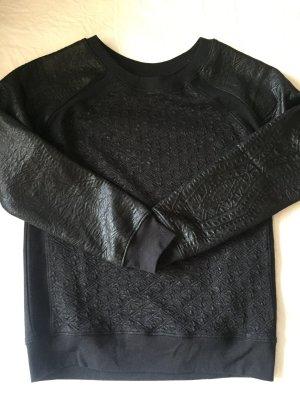 H&M strukturierter Pullover - schwarz - Größe XS - NEU!!