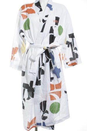 H&M Studio bodenlanger Mantel Kunstmuster Street-Fashion-Look