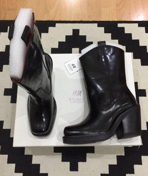 H&M Studio Echtleder Cowboy Boots 37