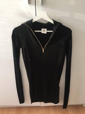H&M Studio gerippter Pullover mit Reißverschluss