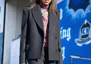 H&M Studio Oversize Cabanjacke Fashion Trend Blogger minimalistisch 38